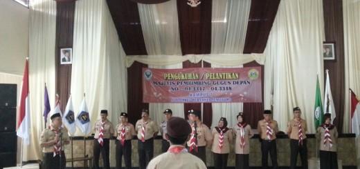 Upacara Pelantikan Mabigus dan Pembina Pramuka Pangkalan Kampus VII Poltekkes Semarang